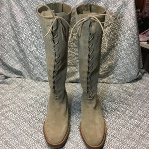 Cole Haan Suede Leather Boots
